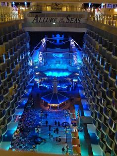 Allure of the Seas by Rachel Cohen on Flickr. #royalcaribbean Our Honeymoon and it was amazing
