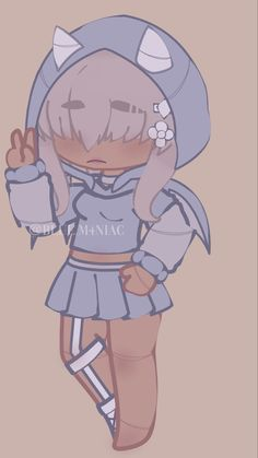 Anime Cat Boy, Anime Angel Girl, Club Hairstyles, Character Outfits, Club Outfits, Animes Wallpapers, Fnaf, Chibi, Design Inspiration