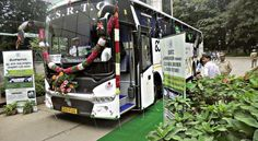 The KSRTC bus which left on its maiden passenger service to Chennai from Bengaluru marks the start of a shift towards 100% renewable energy which also results in benefits for the environment. It will not only cost less but would also ease pressure on import of fossil fuels and help farmers earn revenue from infertile lands by growing bio-diesel yielding trees like honge. #Mysuru #Mysore #Bangalore #Bengaluru #RenewableEnergy #KSRTC #BMTC
