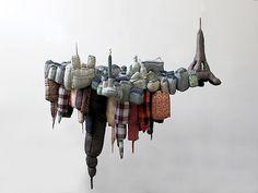 Emilie Faif's soft Paris/NYC sculpture, I love it!