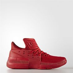 huge discount 6f070 baf36 Adidas Dame 3 Roots Shoes (Scarlet  Scarlet  Scarlet) Adidas Basketball  Shoes,