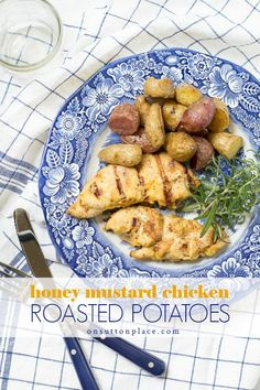 This is the best grilled chicken recipe! It's easy, quick, moist and delicious. Uses fresh or frozen chicken breasts. Paired with rosemary roasted potatoes, it makes the perfect summertime meal. Best Grill Recipes, Summer Grilling Recipes, Barbecue Recipes, Bbq, Summer Recipes, Rosemary Roasted Potatoes, Rosemary Chicken, Best Grilled Chicken Recipe, Honey Mustard Chicken