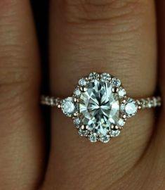 Hospitable Fine Jewelry 18kt White Emerald Topaz Cushion Shape Gold Engagement Men Bands 8# Engagement & Wedding Other Wedding Jewelry