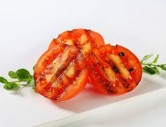 Grilled Tomatoes Recipe- Learn how to make Grilled Tomatoes step by step on Times Food. Find all ingredients and method to cook Grilled Tomatoes along with preparation & cooking time. Pureed Food Recipes, Vegetable Recipes, Healthy Recipes, Yummy Appetizers, Appetizer Recipes, Grilled Tomatoes, Green Bean Recipes, Food Categories, Mediterranean Recipes