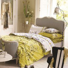 Designers Guild Watelet Duvet Cover Set, Chartreuse