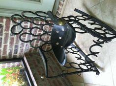 Horseshoe chair.