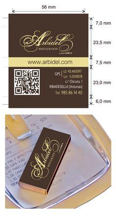 Dise o cajas de cerillas para restaurante botic en cor a for Botic hotel