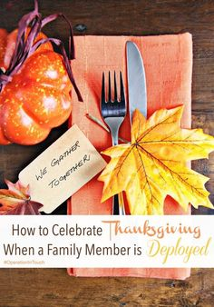 How to Celebrate Thanksgiving When a Family Member is Deployed - Celebrating any holiday alone or without a family member can be hard. Thanksgiving is one that is hard because of how family-oriented it is. It may be a time to remember our blessings, but i Military Marriage, Military Spouse, Military Families, Thanksgiving Care Package, Best Blogs, Fourth Of July, How To Find Out, At Least, Celebrities