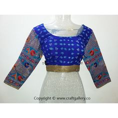 Bandhani pure crepe with kutchi computer work sleeves - designer blouse --- Bandhani pure crepe with kutchi computer work sleeves - designer blouse  Type : Designer Blouse Fabric : Pure Crepe Sleeves : 3 / 4 Size : Up to - 40 inch Breast Additional Work : Bandhani with kutchi computer work  Online Shopping for KutchiBlouse and Designer Blouse on Craft Gallery .Co  Craft Gallery .Co - The Online Store of Handloom andHandicraft Products