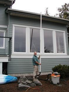 Homemade Diy Leaf Blower Gutter Cleaner Roof Vac