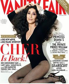 cher magazine covers | Cher Covers December Vanity Fair Magazine | Magazines.com Blog