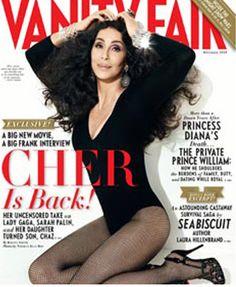 cher magazine covers   Cher Covers December Vanity Fair Magazine   Magazines.com Blog