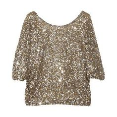 Vince | Sequined crepe T-shirt