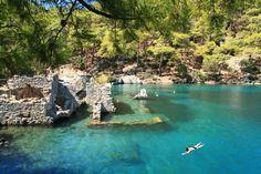 Gocek Bays, Gocek Island, Göcek Adalari Hamam Koyu