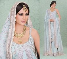 Bridal Dresses for Waleema Ceremony ~ its a world of fashion for middle east girls