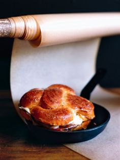peppery prosciutto and mozzarella french toast//donna hay