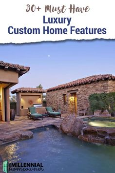 Need custom home ideas? Here are 30  cool luxury custom home features that you can incorporate into your custom built house. These unique custom home ideas will transform your new house.