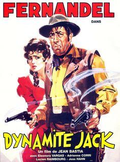 Dynamite Jack est un film français réalisé par Jean Bastia et sorti en 1961.  Cette comédie, bien qu'étant également un western, a entièrement été tournée en France. Avec Fernandel en tête d'affiche (dans un double rôle), le film attire plus de deux millions de spectateurs et se classe ainsi en 21e position du box-office français de l'année 1961. À la fin du xixe siècle, le Canyon des Veuves est terrorisé par le redoutable Dynamite Jack. Un français, venu faire fortune dans ce coin désert... Steve Winwood, Julie London, Boney M, John Mayer, Philippe Leotard, Jean Claude Pascal, Catherine Lara, Baddies, Marseille