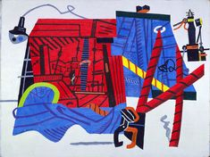 Stuart Davis was devoted to capturing the speed and energy of the Machine Age.