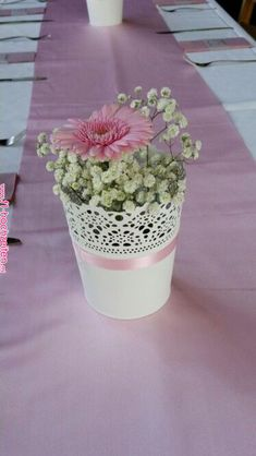 Taufdeko You are in the right place about diy wedding save the dates Here we offer you the most beautiful pictures about the diy wedding centerpieces you are looking for. Shower Centerpieces, Floral Centerpieces, Wedding Centerpieces, Wedding Table, Diy Wedding, Floral Arrangements, Wedding Flowers, Wedding Decorations, Floral Wedding