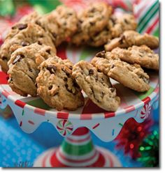 Double Chocolate Chip Cookies for Santa