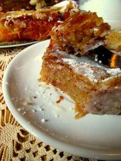 Apple Pie Recipes, Sweet Recipes, Cake Recipes, Dessert Recipes, Dessert Ideas, Bosnian Recipes, Croatian Recipes, Posne Torte, Kolaci I Torte