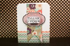 Thank You card with large banner