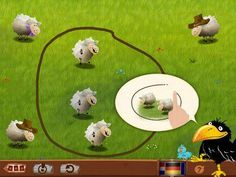 HABA Counting Raven - a set of activities for early math practice (numbers 1 to 20). Appysmarts score: 88/100 http://www.appysmarts.com/application/haba-counting-raven,id_102431.php
