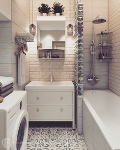 10 Ways to Squeeze a Little Extra Storage Out of a Small Bathroom bathroom storage freestanding Bathroom Toilets, Laundry In Bathroom, Loft Bathroom, Bathroom Storage, Home Interior, Bathroom Interior, Tiny Apartments, Toilet Design, Bathroom Organisation