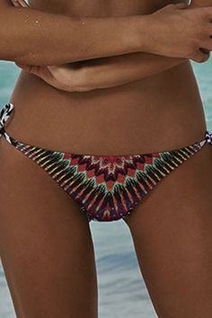cacdcdbfc7 Pily Q Swimwear African rays bikini bottom is Low rise bottom offer full  coverage has more coverage in the rear or skimpy coverage .