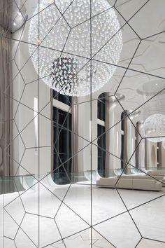 More sparkliness. More mirrors. Big windows. Altogether brilliant.