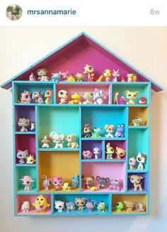 42 Best Ideas For Kids Room Organization Ideas Organizing Toys Diy Crafts Diy And Crafts, Crafts For Kids, House Shelves, Kids Room Organization, Organizing Toys, Little Pet Shop, Toy Rooms, Little Girl Rooms, Toy Storage