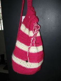 crochet beach bag handmade
