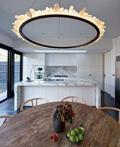 Bright Living Space natural materials kitchen decor
