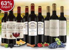 """Ebrosia: Bordeaux-Probierpaket mit neun Flaschen für 39,99 Euro frei Haus https://www.discountfan.de/artikel/essen_und_trinken/ebrosia-bordeaux-probierpaket-mit-neun-flaschen-fuer-39-99-euro-frei-haus.php Neun Flaschen Wein, über 69 Euro Rabatt: Bei Ebrosia gibt es ab sofort ein """"Bordeaux XXL Weinprobierpaket"""" zum Schnäppchenpreis von 39,99 Euro mit Versand. Enthalten sind neun Flaschen. Ebrosia: Bordeaux-Probierpaket mit neun Flaschen für 39,99 Euro frei Ha"""