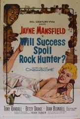 Original studio stamped Will Success Spoil Rock Hunter. In this film Rock Hunter hatches a strategy for a new beauty product and recruits Rita Marlowe to deliver his message. She agrees only as a ploy to make her actor lover jealous pretending Rock is her new boyfriend. What will transpire in this love triangle?!