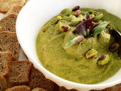 Pestacchio © Gif, Guacamole, Veggies, Mexican, Ethnic Recipes, Food, Vegetable Recipes, Vegetables, Meals