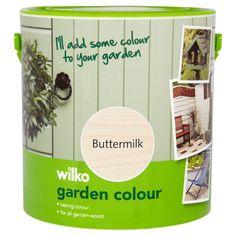 Wilko Garden Colour Buttermilk 2.5ltr at wilko.com