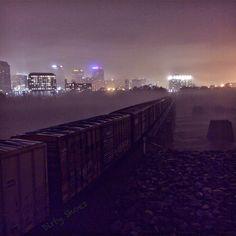 Into the foggiest night...  #iPhoneonly #visitrichmondva #RVA #richmondva #RVAtourism #rvanews #jamesriver #JRPS #hiking #virginia #ig_virginia #richmondgrid  #richmondoutside #HowDoYouRiver #igers #bestoftheday #nature #iphonesia #igdaily #all_shots  #reflections #longexpo #longexposure #fog by gahuss