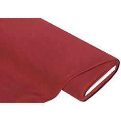 Tissu jersey extensible, bordeaux, tissu multi-usage idéal pour nombreuses idées de couture. Le tissu est agréable à porter, très doux au toucher et facile d´entretien.Composition : 93 % coton, 7 % élasthannePoids : env. 180 g/m²Largeur : 160 cm