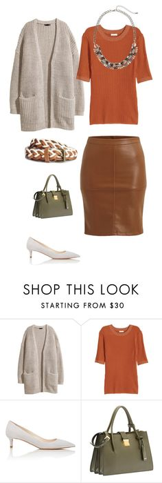 """""""Untitled #25"""" by lone-haure-norrevang on Polyvore featuring H&M, Prada, Miu Miu and VILA"""