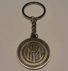inter de milan fc futbol football soccer metal key chain keychain