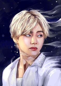 Is he real Or is he just a fantasy Ref btsfanart taehyungfanart bts BTS_twt Bts Taehyung, Taehyung Fanart, Bts Bangtan Boy, Bts Jimin, Jungkook Fanart, Jhope, K Pop, Kpop Fanart, Daegu