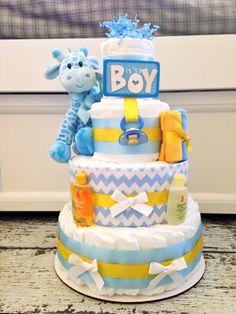 Diaper Car | NEW Giraffe Themed Diaper Cake for Boys Giraffe by AllDiaperCakes, $85 ...