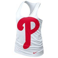 Philadelphia Phillies Women's Loose Fit Racerback Tank by Nike - MLB.com Shop