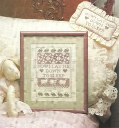 DIGITAL PATTERN  Country Dreams Cross Stitch Embroidery Pattern