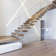 Invisible Steel Stringer Floating Staircase with Landings picture from Shenzhen Ace Architectural Products Co., Limited view photo of Staircase, Floating Staircase, Steel Floating Staircase.Contact China Suppliers for More Products and Price. Glass Stairs, Glass Railing, Wood Stairs, House Stairs, Steel Railing, Laminate Stairs, Painted Stairs, Staircase Landing, Floating Staircase