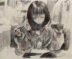 Pretty Art, Cute Art, Art Sketches, Art Drawings, Aya Takano, Poster Anime, Arte Punk, Cat Icon, Arte Sketchbook