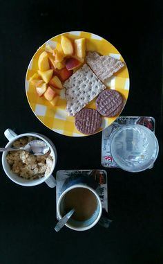 Petit déjeuner avant l'examen