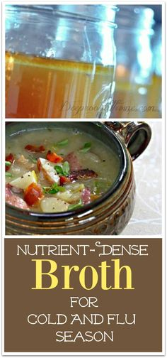 """You're A Really Good Cook"" Nutrient-Dense Broth For Cold & Flu Season Whole Food Recipes, Soup Recipes, Healthy Recipes, Healthy Habits, Dinner Recipes, Healthy Soups, Healthy Lunches, Free Recipes, Easy Recipes"